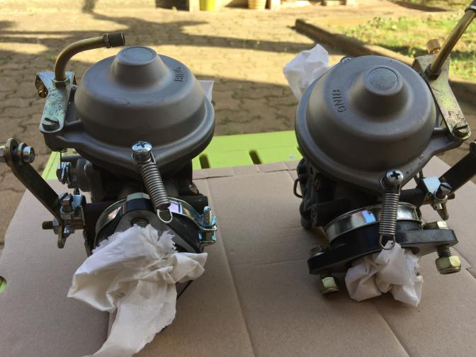 2 Carburateurs Rotax 100 cv Reconditionnés