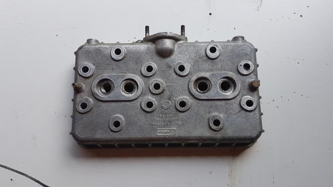 Pieces moteur Rotax 582 culasse grise