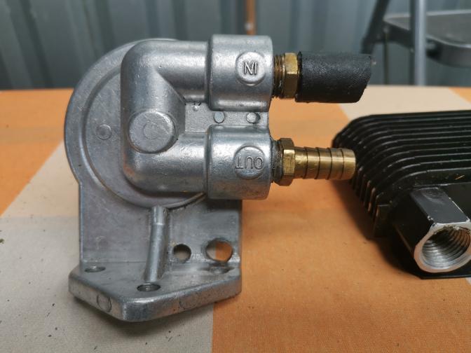 radateur /filtre à huile
